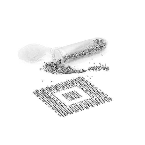Cínové kuličky Pro BGA (malé balení) 1000 kuliček 0,6mm