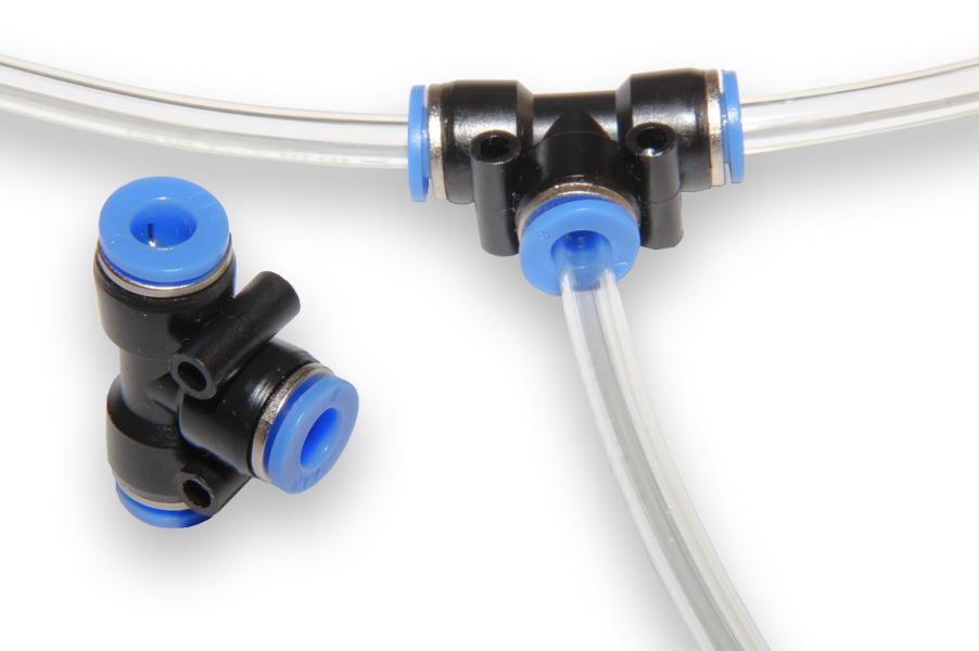 Rychlospojka - T rozbočení pro hadice 6 mm