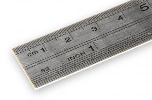 Nerezové pravítko 20cm