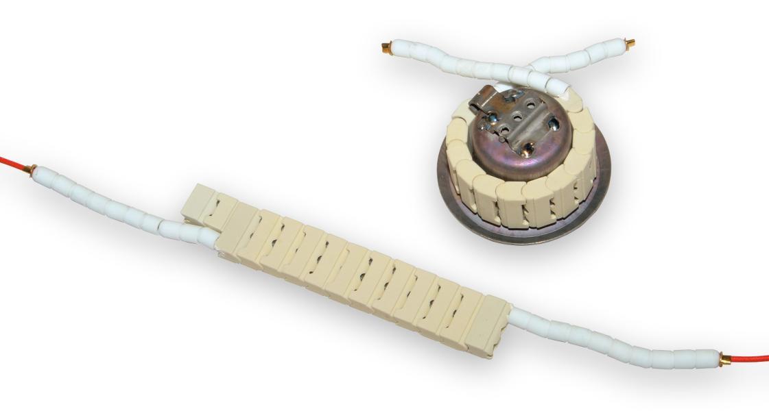 Náhradní keramická topná tělesa k cínovacím lázním řady BD Těleso pro vanu BD-50mm