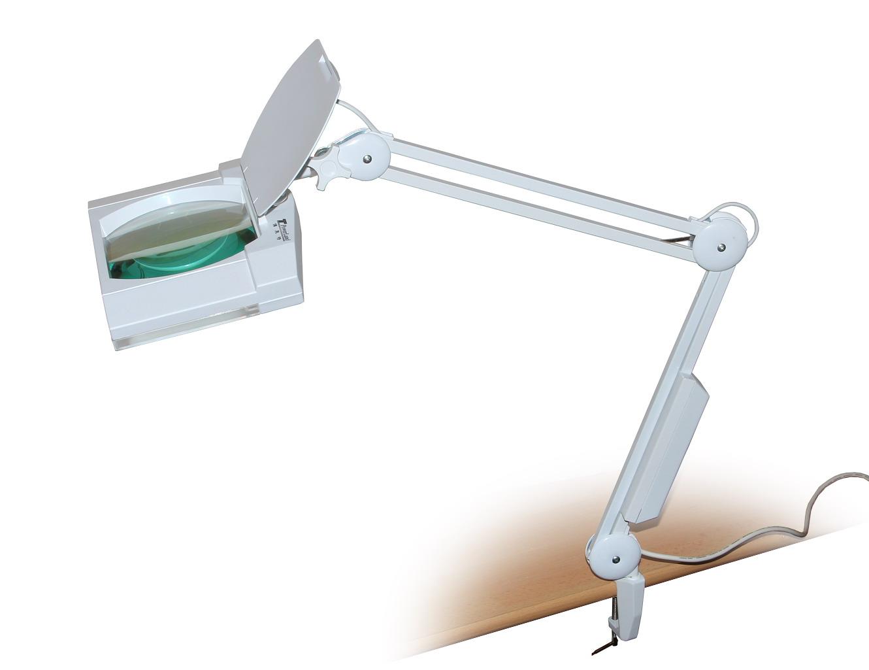 Stolní lupa s osvětlením typ Giga zvětšení 8D