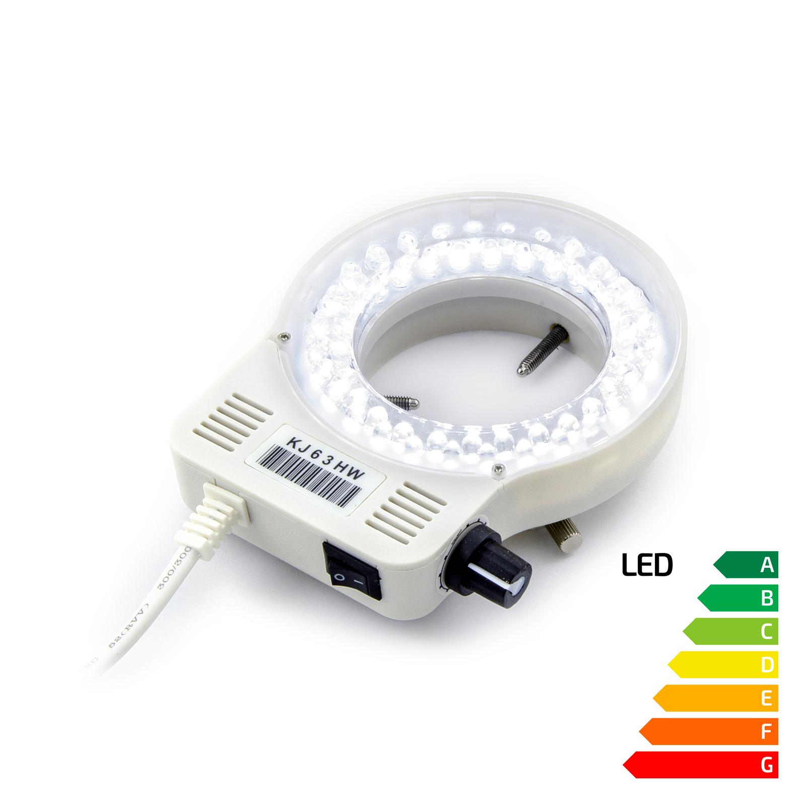 LED lampa s regulací intenzity svitu k mikroskopům