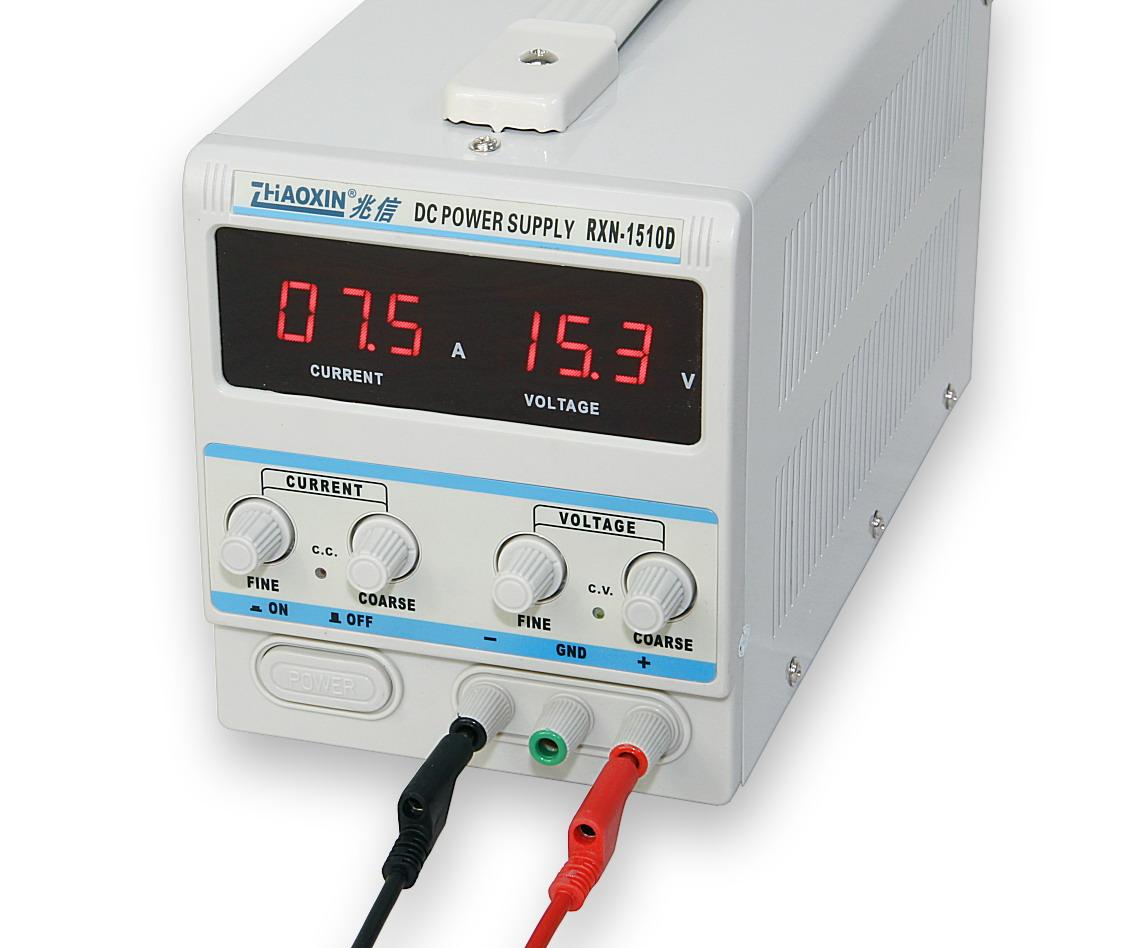Laboratorní zdroj RXN-1510D 0-15V/10A