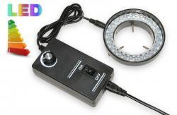 LED lampa s regulací intenzity k mikroskopům - 56 LED
