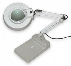 Lampa s kruhovou lupou typové řady T86-C zvětšení 3D