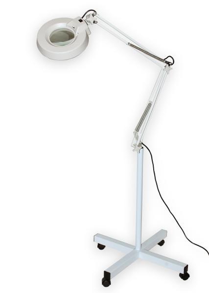 Lampa s kruhovou lupou typové řady T86-E zvětšení 3D