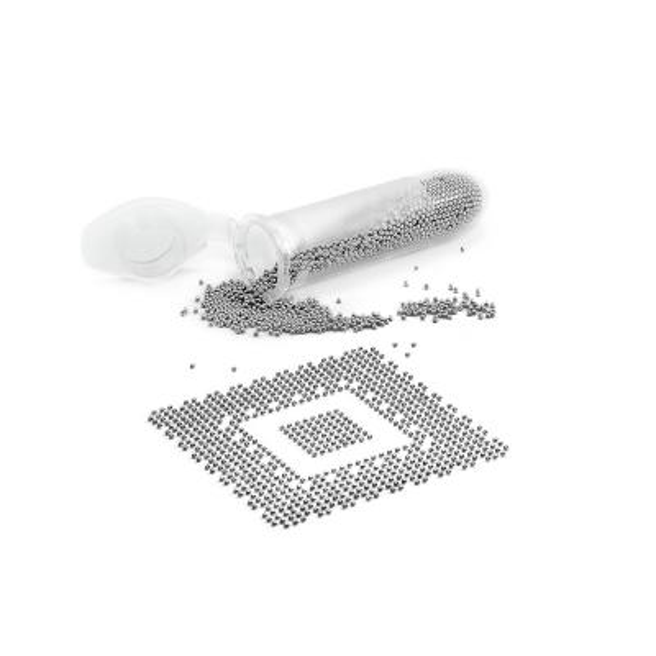 Cínové kuličky Pro BGA (střední balení) 5000 kuliček 0,3mm