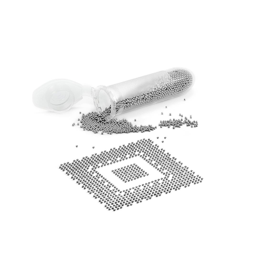 Cínové kuličky Pro BGA (střední balení) 5000 kuliček 0,76mm