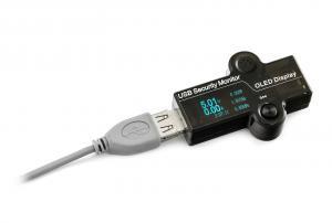 """Multifunkční USB tester (multimetr) 0.96"""" OLED displej"""