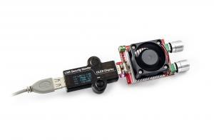 USB tester s elektronickou zátěží 35W, set