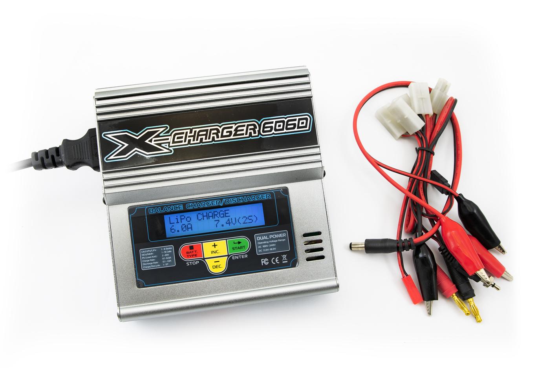 Nabíječka akumulátorů AD-6 s duálním napájením 230V/12V