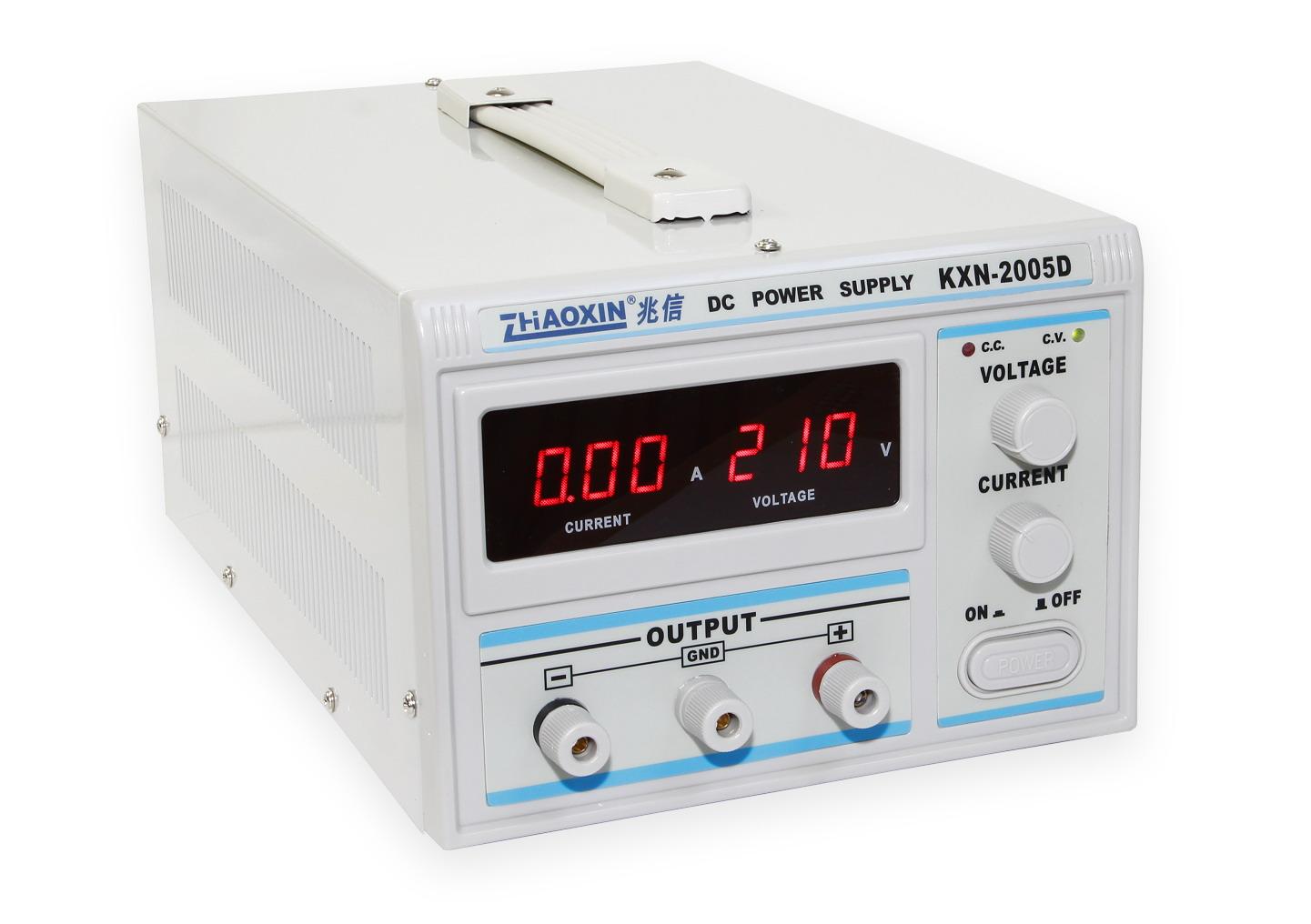 Laboratorní zdroj KXN-2005D 0-200V/5A