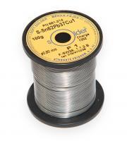 Olovnatá trubičková pájka S-Sn62Pb37Cu1 průměr 0,8 mm