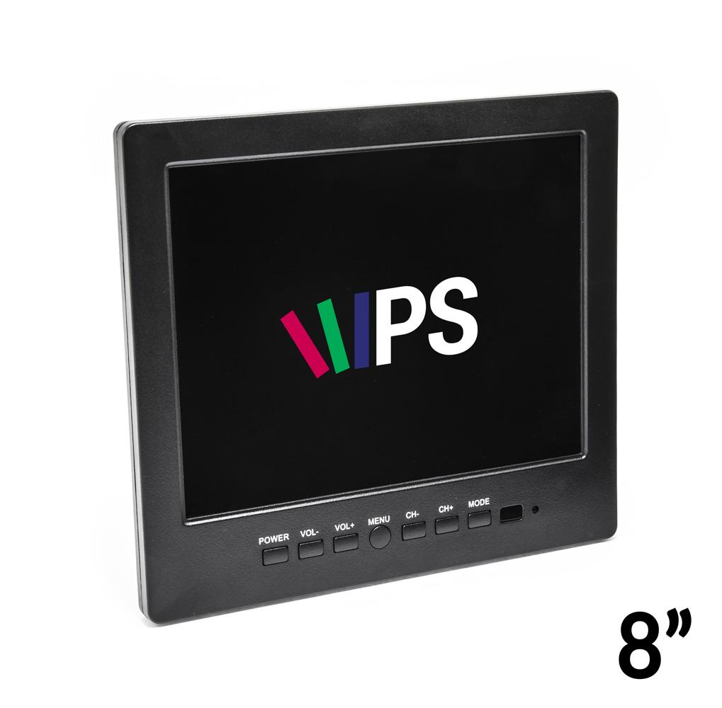 """8"""" LCD monitor k zabezpečovacím zařízením a mikroskopům"""