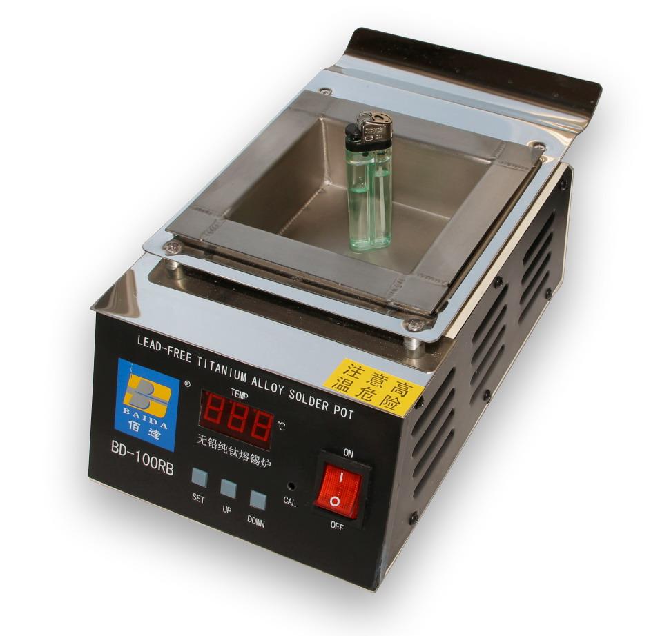 Cínová lázeň titanová BD-100-RB