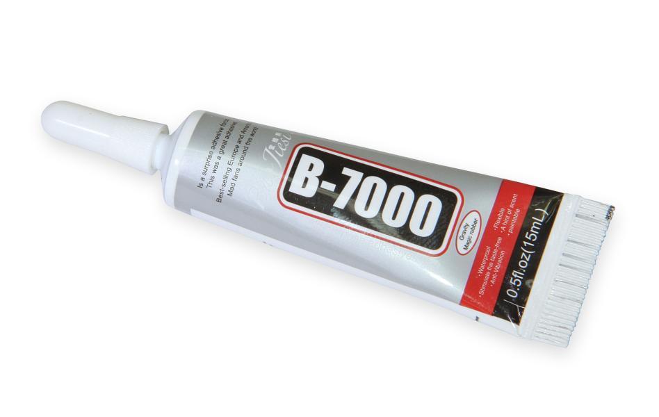 Lepidlo B-7000 pro opravy mobilní elektroniky (15ml)