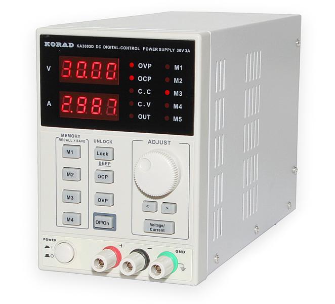 Laboratorní zdroj Korad KA3003D