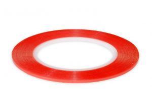 Výrobek: Oboustranná čirá lepící páska šířky 2mm zesílená na lepení sklíček a LCD