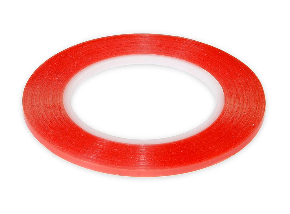 Průhledná oboustranná lepící páska 5mm se zesílenou přilnavostí a tloušťkou