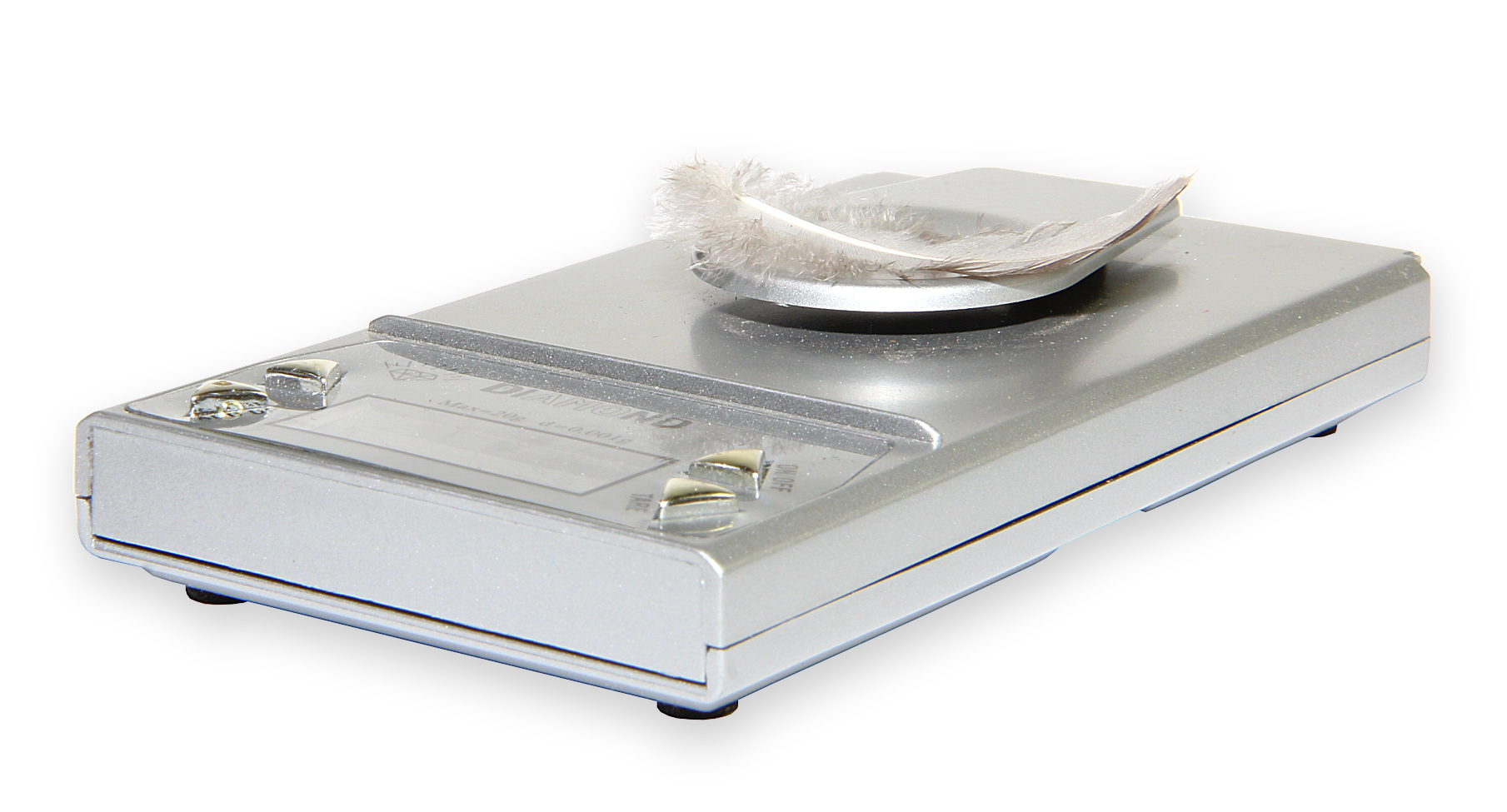 Elektronická váha DIAMOND do 20g s dílkem 0,001g