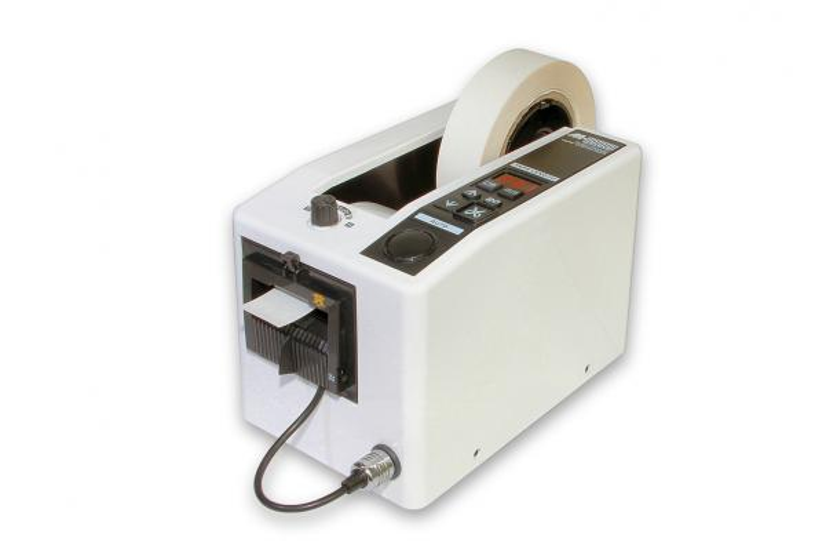 Automatický dávkovač lepící pásky - odvíječ a podavač lepící pásky typ M-1000