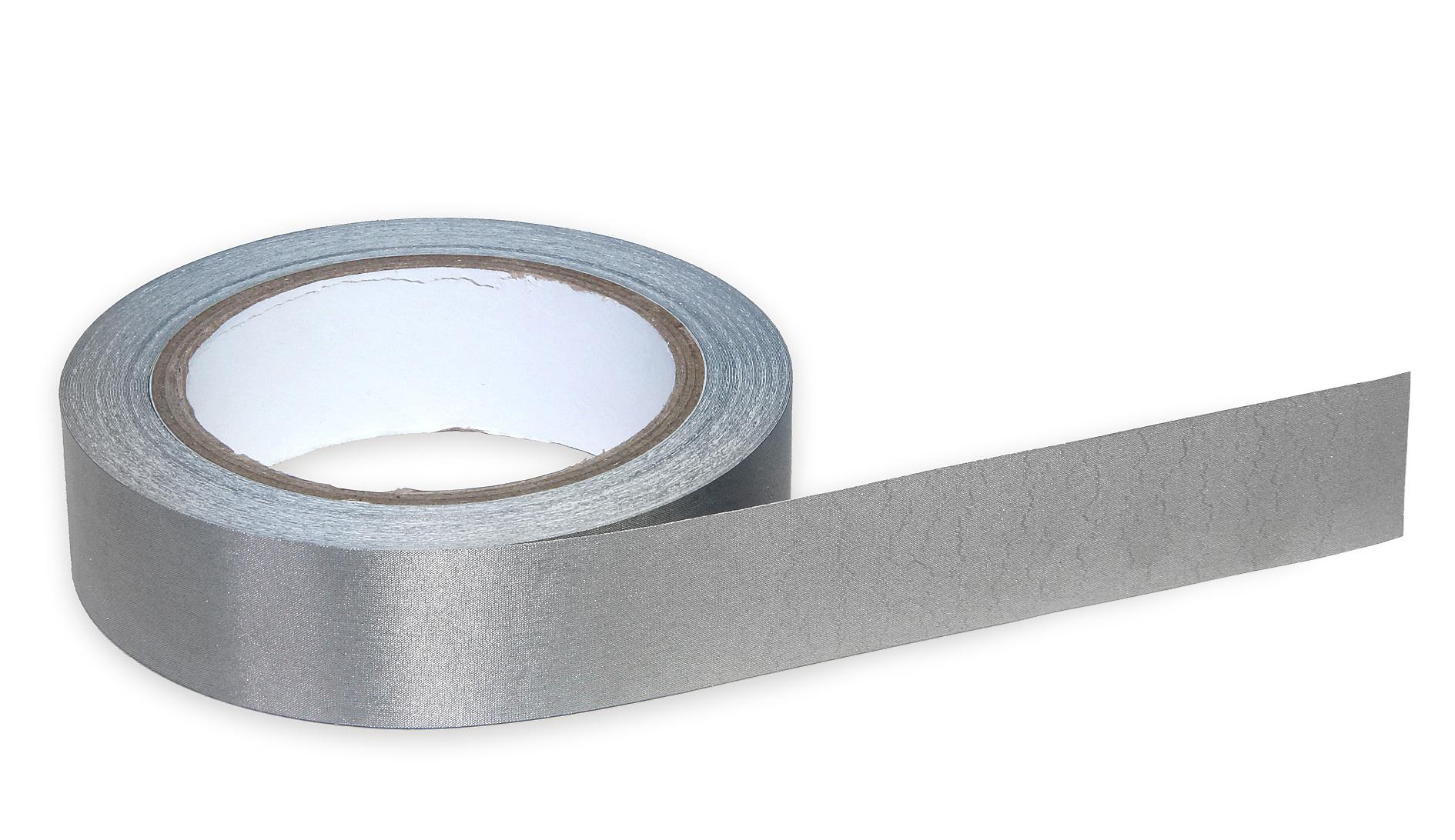 Vodivá stínící lepicí páska tkaná z kovových vláken, šíře 30 mm