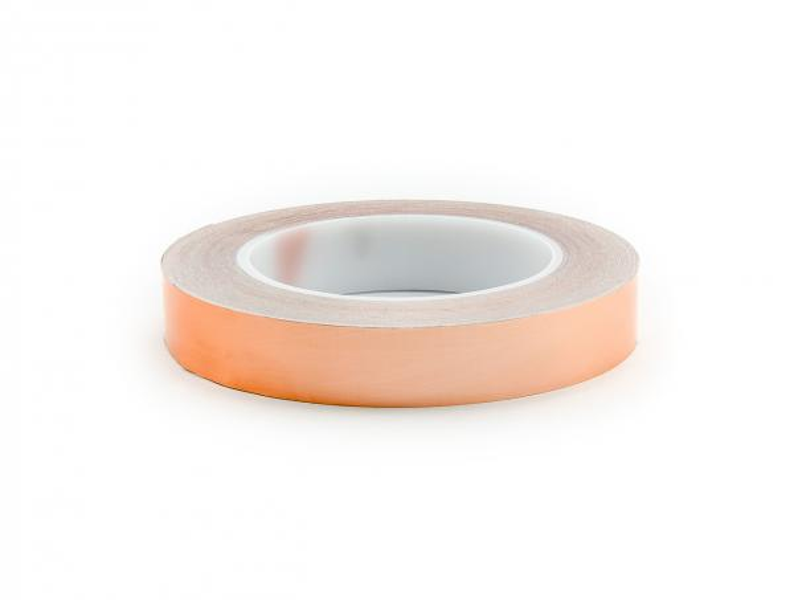 Stínící lepící Cu páska k odstínění elektromagnetického pole šířka 20 mm