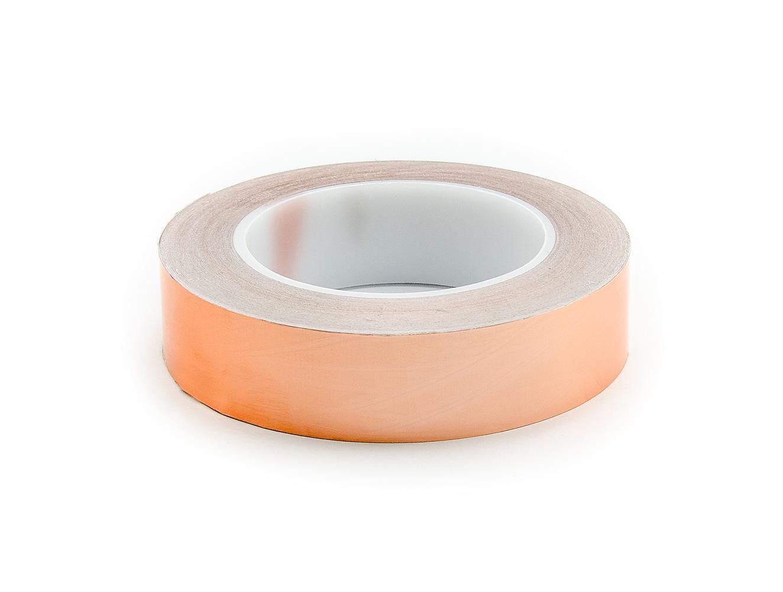 Měděný samolepící pásek k odvádění tepla a elektrostatického náboje šířka 40 mm