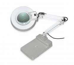 Stolní lupa s LED osvětlením T86-C zvětšení 5 dioptrií