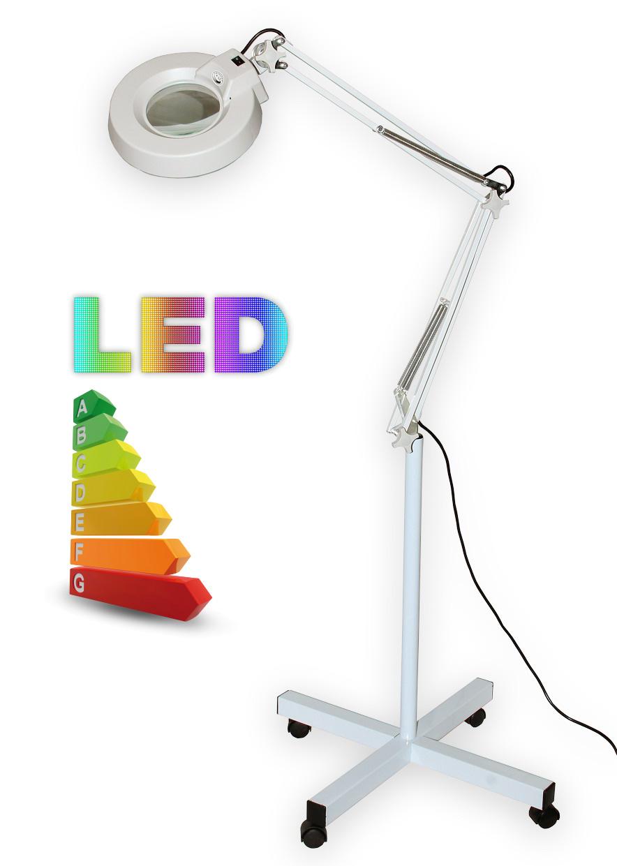 Stolní lupa s LED osvětlením T86-E zvětšení 5 dioptrií