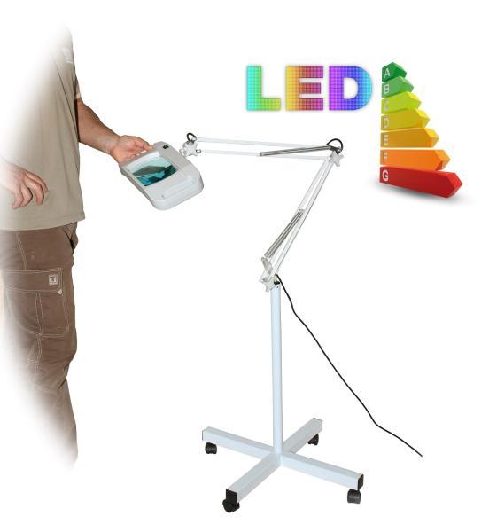 LED lampa se zvětšovacím sklem T86-F zvětšení 8 dioptrií