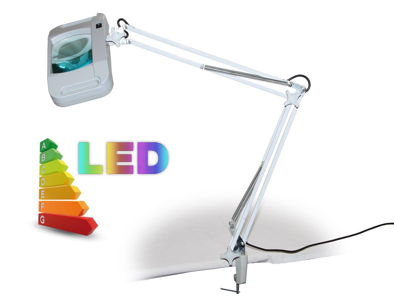 LED lampa se zvětšovacím sklem T86-G zvětšení 5 dioptrií