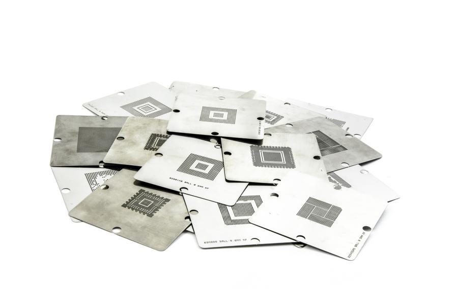 Planžeta pro reballing BGA čipů 9cm na objednávku