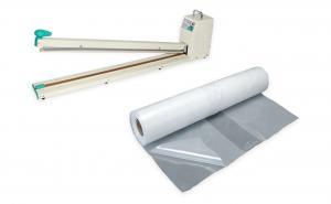 Páková svářečka fólií pro zatavování plastů FRN-700 se svářecí lištou o šířce 700 mm