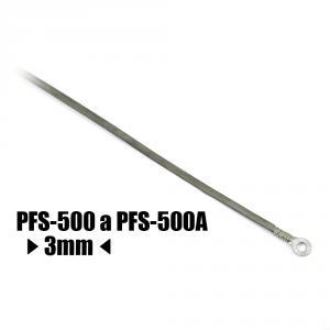 Náhradní tavící drát ke svářečce plastových fólií PFS-500 a PFS-500A, šířka 3 mm délka 544mm