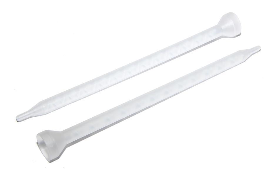 Statický mixer MC6-24 189,5 mm, 24 bílých prvků průměru 6,3 mm
