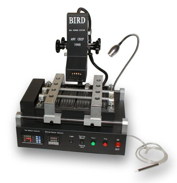 Infračervená pájecí stanice BIRD 5000 V3 s chlazením plotny