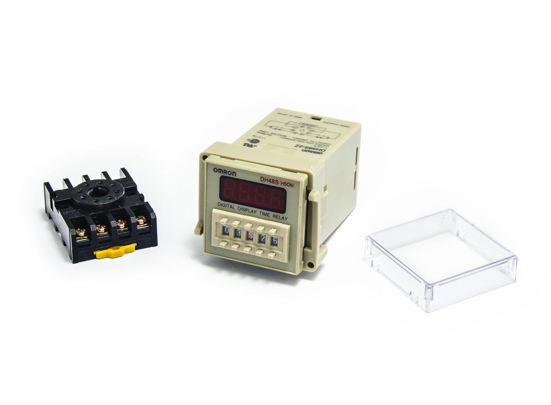 Digitální časovač OMRON DH48S-2Z (H5CN) 0,01s - 9999h