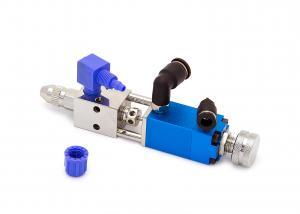Pneumaticky řízený jehlový dávkovací ventil jednocestný VSD-040