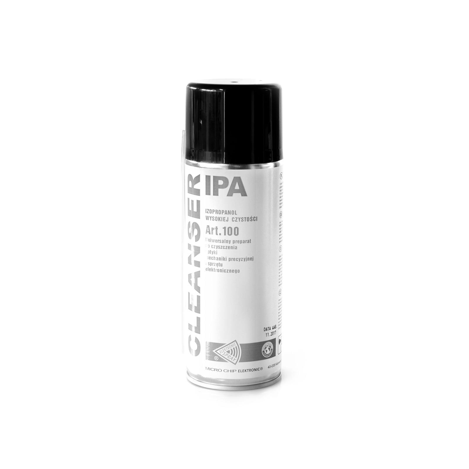 Cleanser IPA izopropanol univerzální čistič mastnot a optiky 400ml sprej