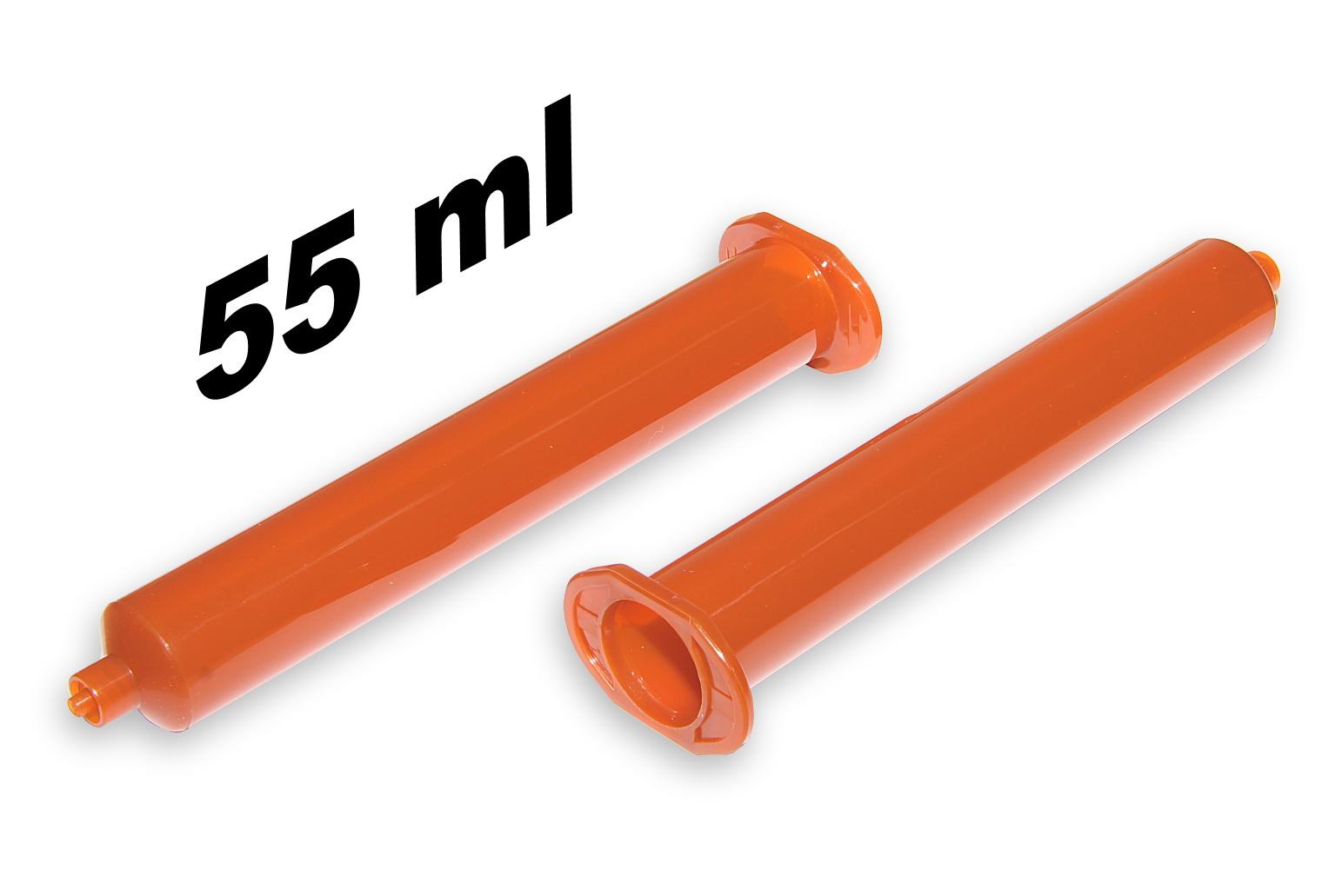 Průmyslová kartuše 55ml jantarová - UV blokující
