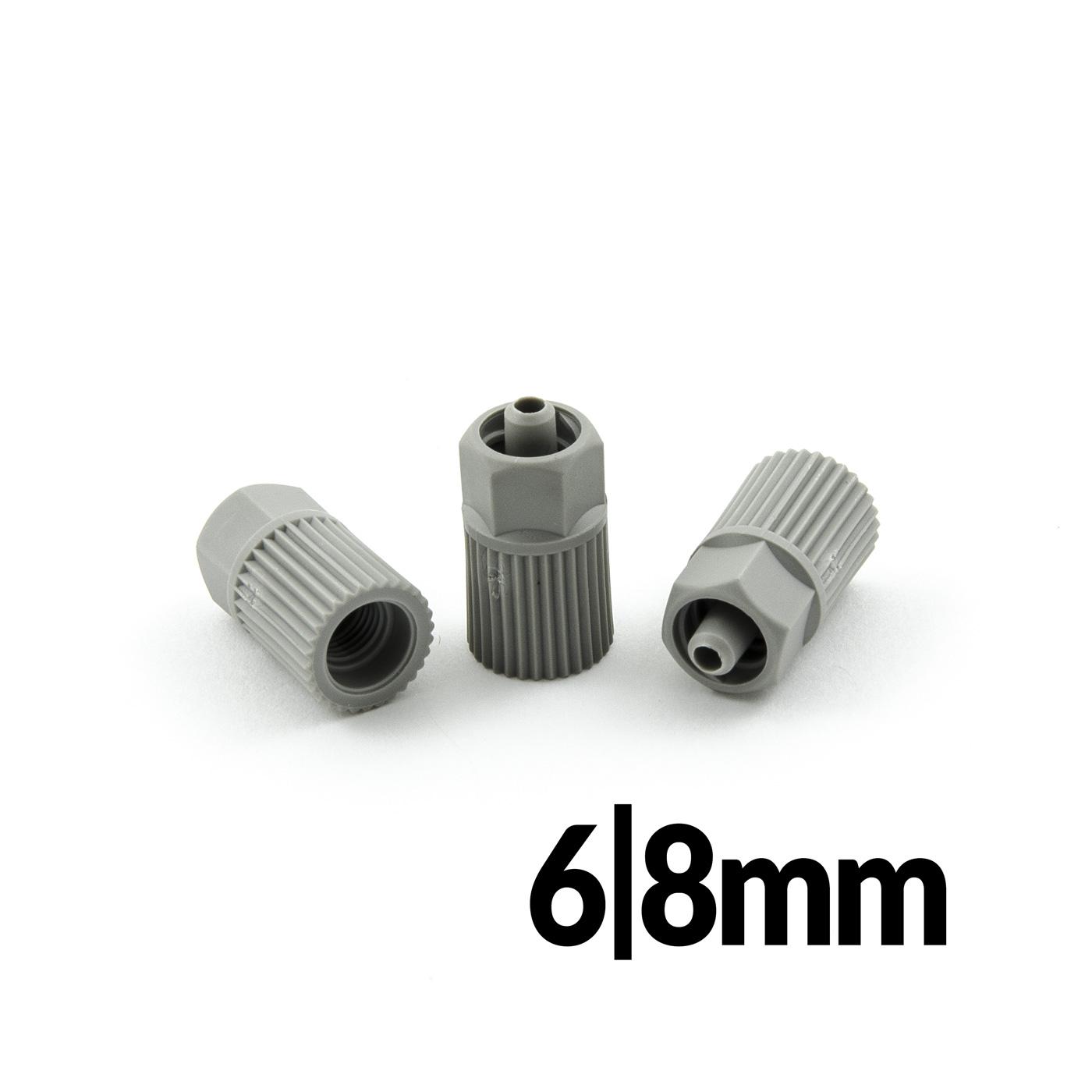 Redukce pro mixéry 6 a 8mm k připojení dávkovacích jehel luer lock