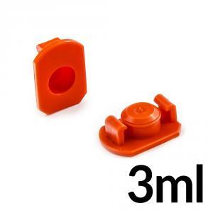 Horní uzávěr kartuší 3ml pro průměr 9.5mm