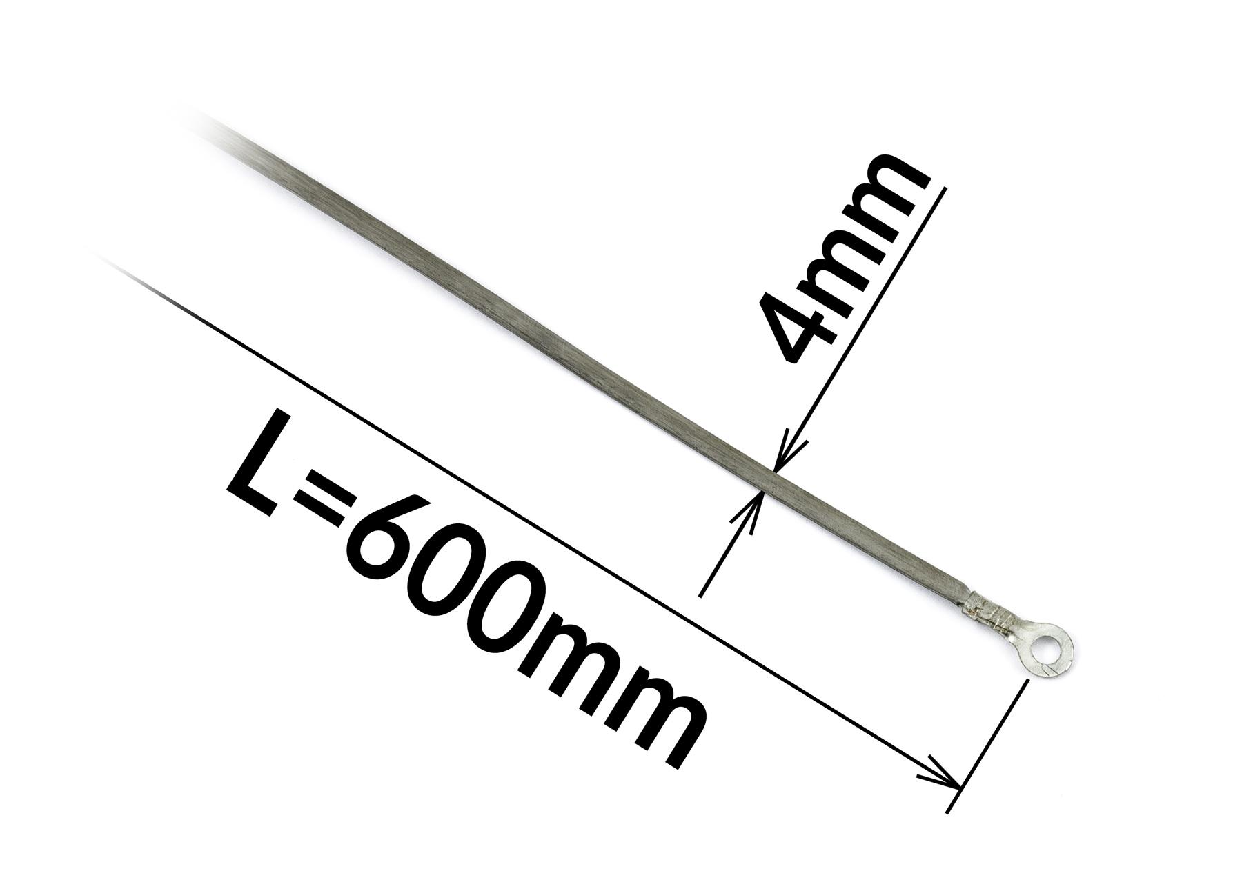 Odporový tavný drát ke svářečce FRN-600 a PFS-600A šířka 4mm