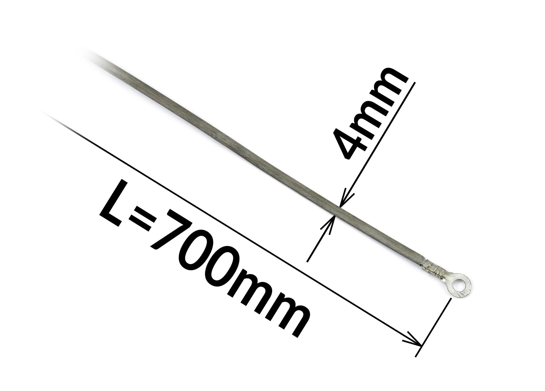 Odporový tavný drát ke svářečce FRN-700 a PFS-700A šířka 4mm