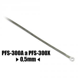 Řezací odporový drát ke svářečce PFS-300A a PFS-300X šířka 0.5mm délka 345mm