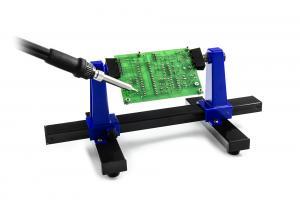 Držák plošných spojů otočný 360° ke snadnému pájení DPS