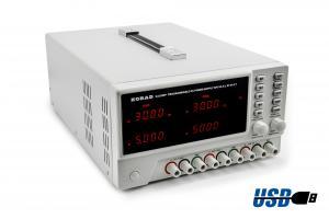 Dvojitý zdroj Korad KA3305P 2x 30V 5A s USB RS232 programovatelný