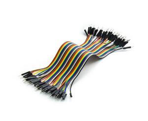 Sada propojovacích drátků s konektory pro nepájivá kontaktní pole 40ks