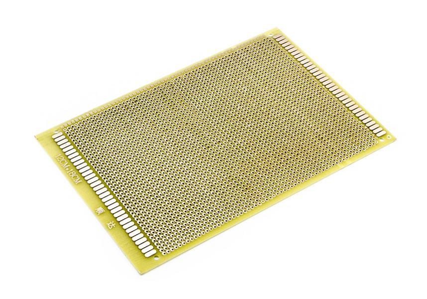Experimentální PCB k testování obvodů 2706 bodů 12x18cm
